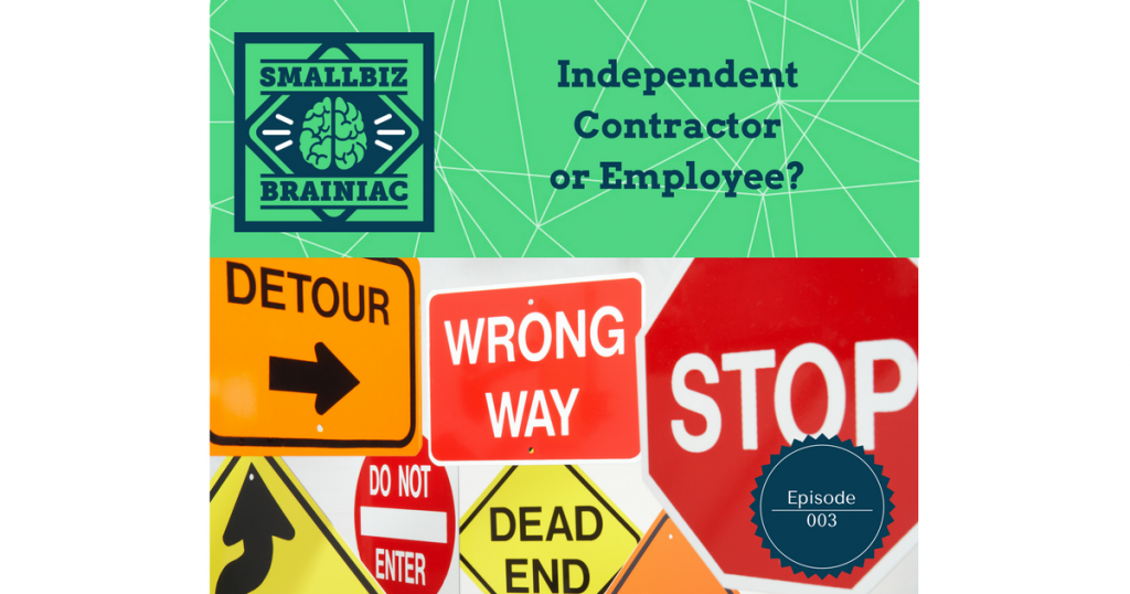 The first thing you must understand before hiring a worker is weather or not they are an independent contractor or an employee.