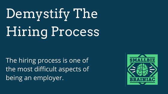 Blog - Demystify The Hiring Process