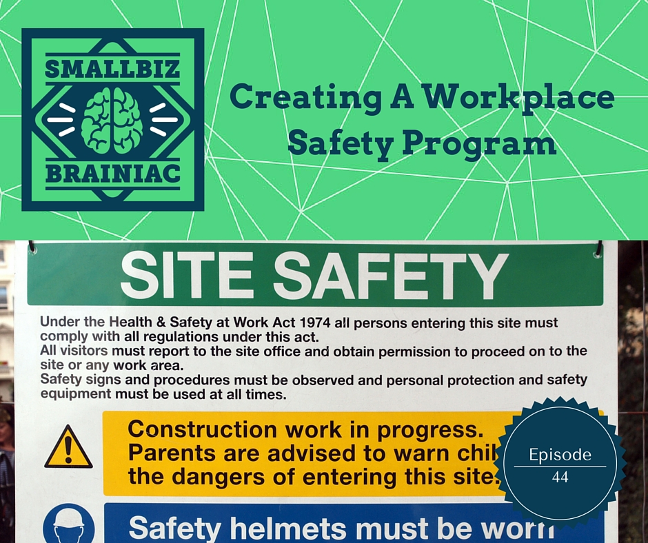 creating a workplace safety program