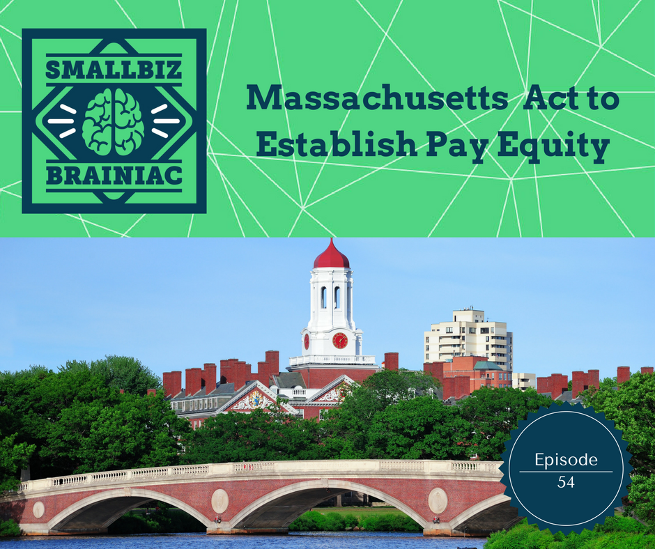 Massachusetts Act to Establish Pay Equity