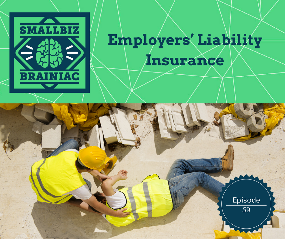 You can be held liable to others when your employee is inured on the job.