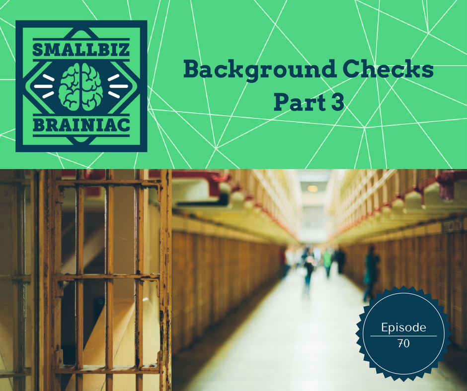 If you are going to do background checks despite the risks, you'd better know the best practices so you don't get sued!