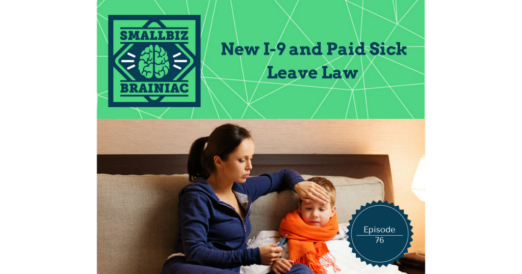 "Sick leave - On October 5, 2016, Cook County, Illinois passed an ""earned sick leave"" ordinance that takes effect on July 1, 2017"