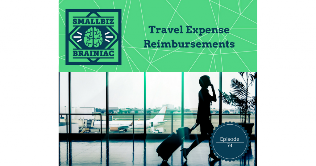 Travel expenses are reimbursable if they are incurred while your employee is temporarily away from home, and on business for your company.