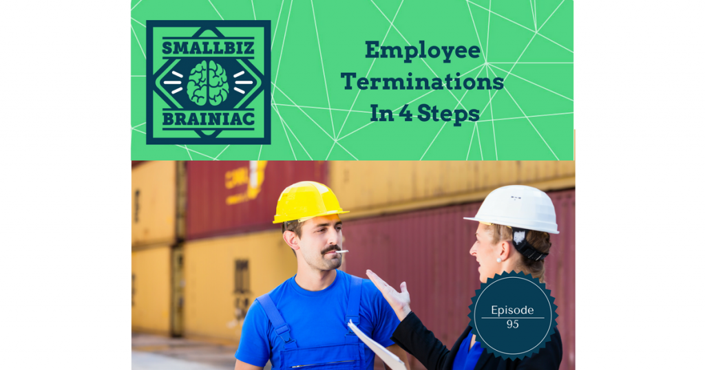 Terminations aren't fun. It's never easy, and it can be very stressful for you or whomever is doing the firing, and most of all, for the person you're letting go.