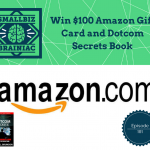 we want to tell you how you can win a$100 Amazon gift card and a copy of the amazing book Dotcom Secrets….just for listening to this episode.