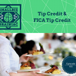 Hopefully you are also aware that there is a provision in the Fair Labor Standards Act (FLSA) that allows you to take a tip credit toward meeting your minimum wage obligations.