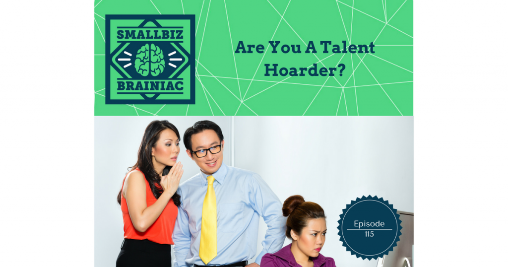 A talent hoarder is someone within your organization with the authority to prevent the upward mobility of specific employees because they feel they're too valuable to you in their current position.