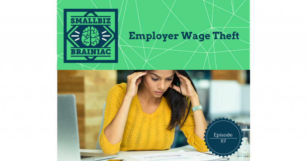Employer wage theft