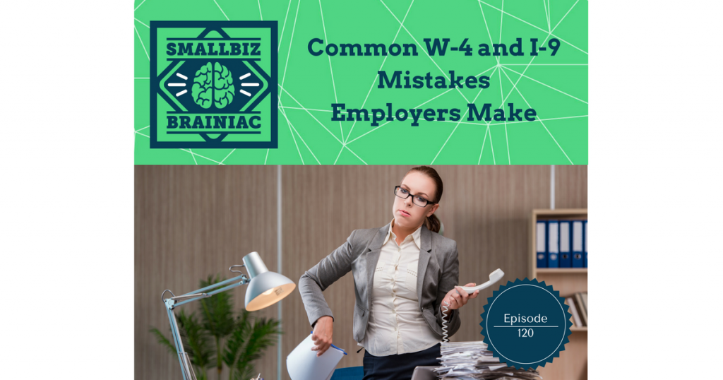 Let's go over a few common mistakes you should avoid having to do with these forms.