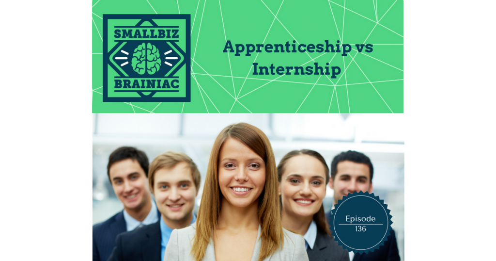 Have you ever thought of creating an apprenticeship or internship?
