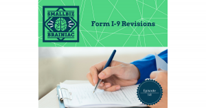 Even though Form I-9 revisions seem insignificant, failure to comply can result in fines.